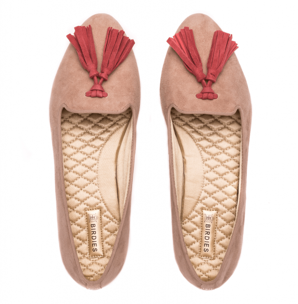 Celebrate Mom with Stylish Mother's Day Gift Ideas-Birdies-slippers-rosefinch-tassels