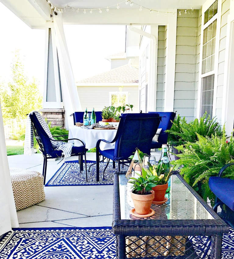 Summer Outdoor Living Tour - ideas and inspiration for your patio, porche and outdoor spaces