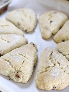 Love these easy cranberry scones!