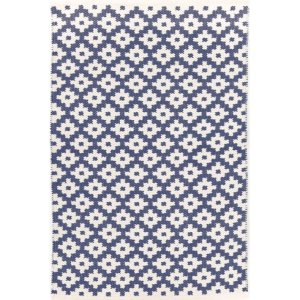 Samode Blue and White Rug Image