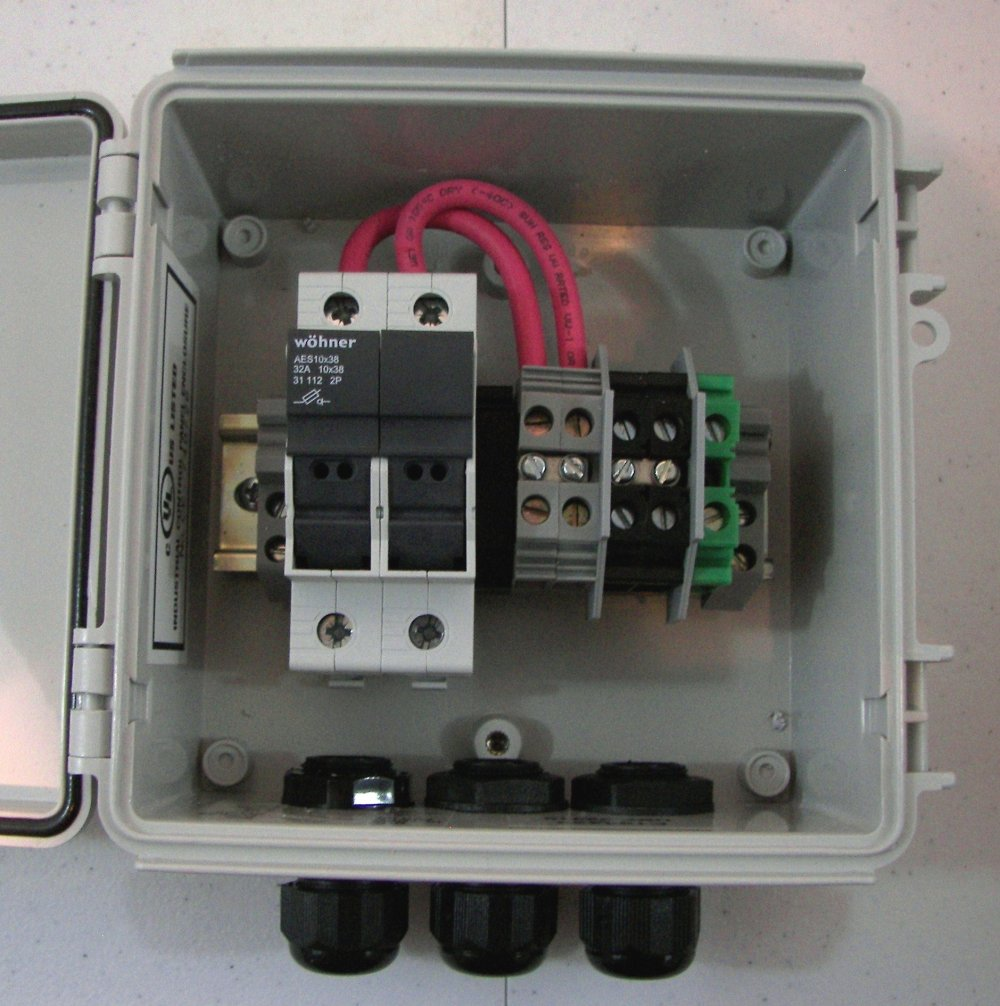 medium resolution of solar combiner box with fuses wiring diagram portal u2022 combiner box wiring wiring