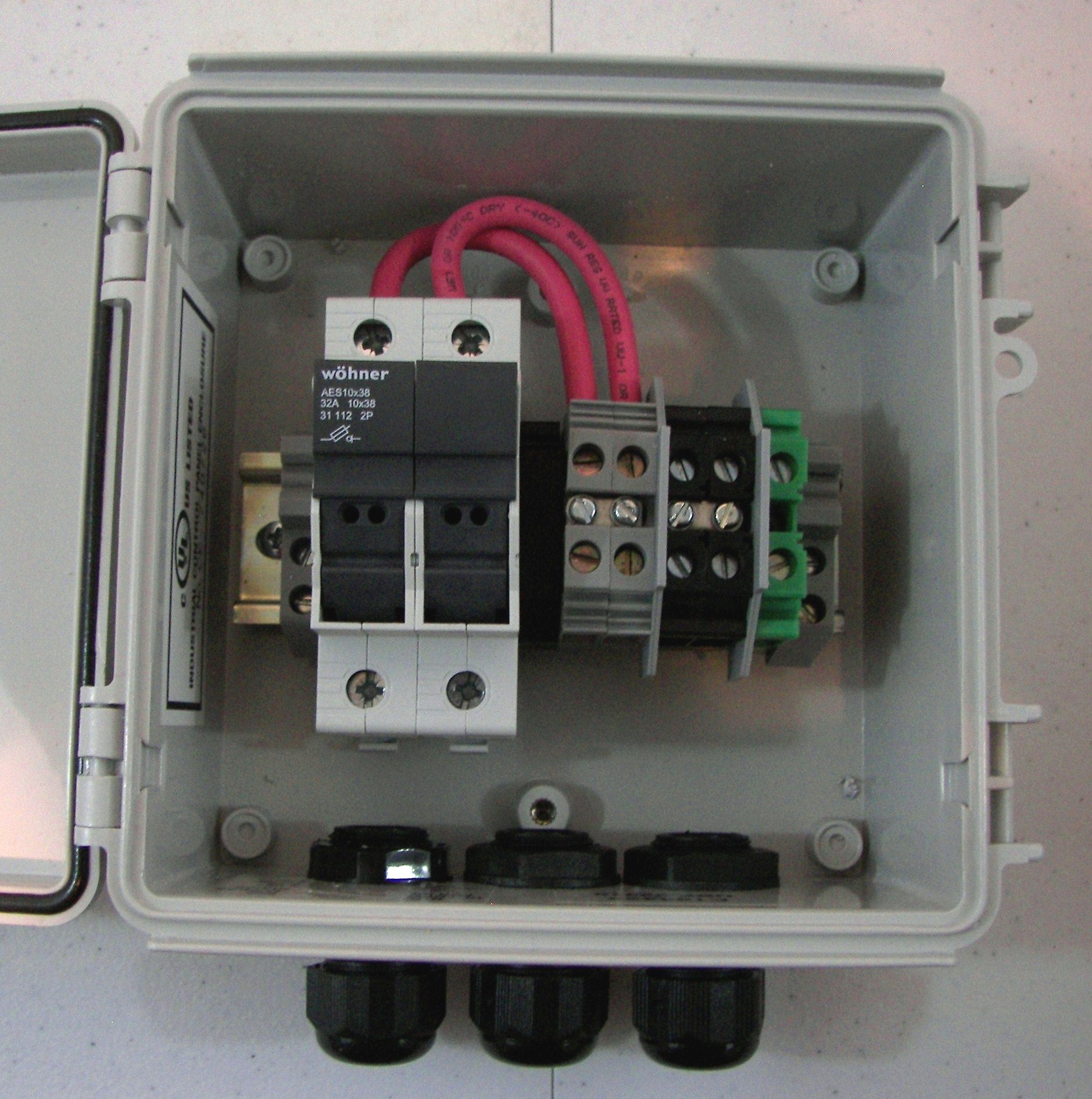 hight resolution of solar combiner box with fuses wiring diagram portal u2022 combiner box wiring wiring