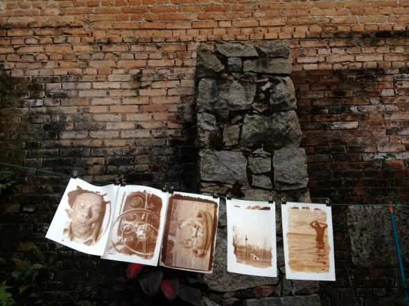 Varal de Fotos em Papel Salgado. (Rogério Tomazela)