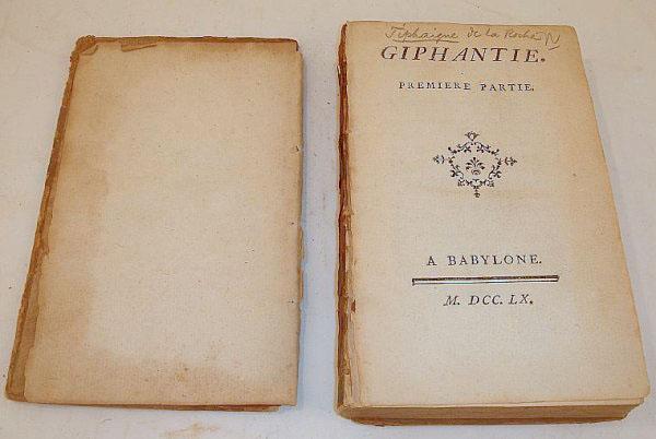 Primeira edição de Giphantie. Imagem capturada da internet.