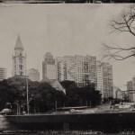 A imagem final da Praça Roosevelt.