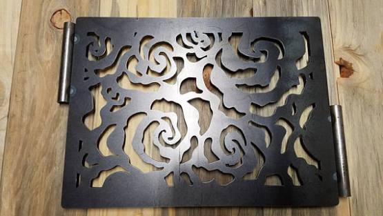fire pit ring Panel