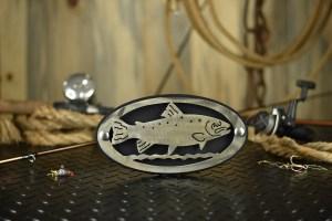 fish metal art custom hitch cover
