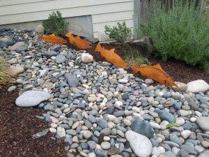 Fish Garden Art