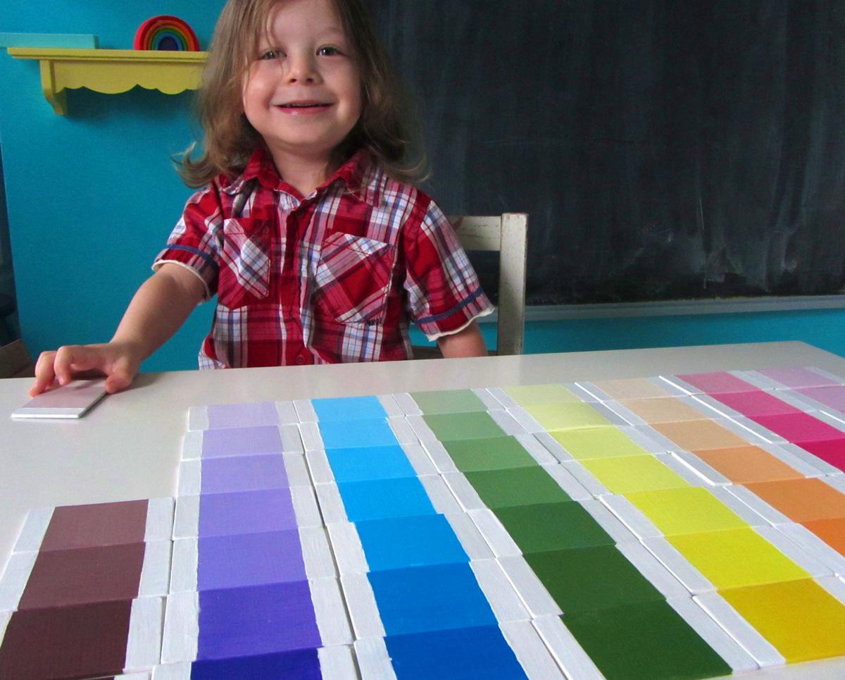 Diy Montessori Color Tablets