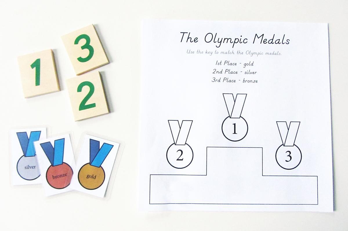 Winter Games Homeschool Printables