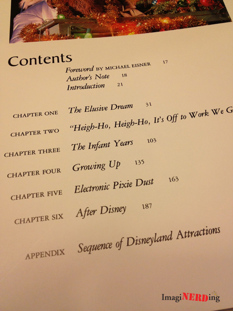 disneyland: inside story table of contents