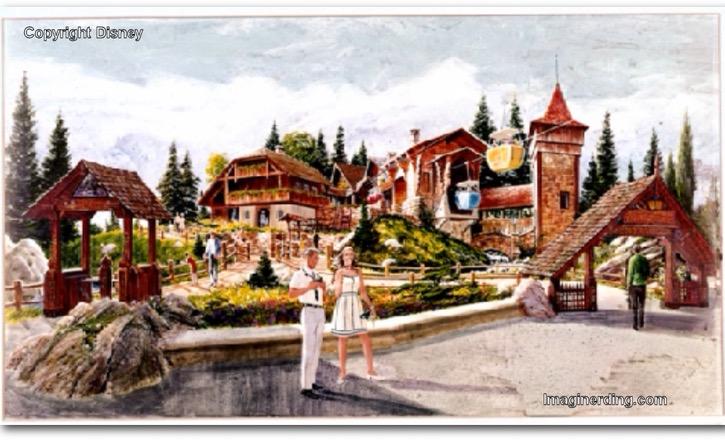 Imagineering the Magic Kingdom Concept Art Part Two