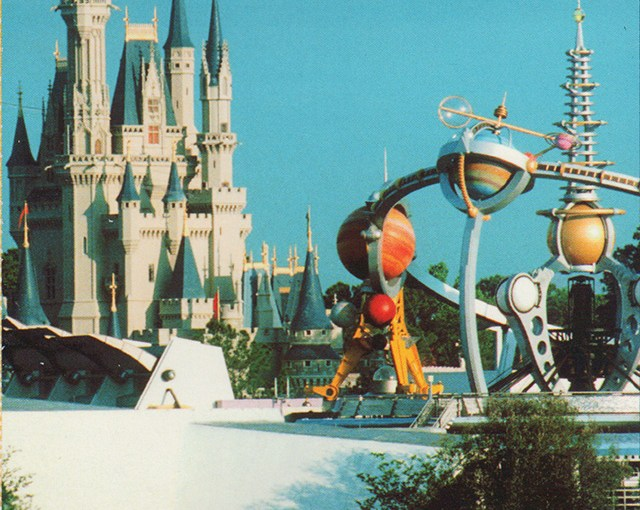WYWHW: Monorail Postcard at Walt Disney World