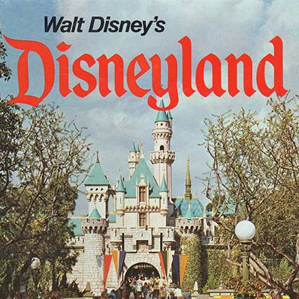 My Library: Walt Disney's Disneyland by Martin Sklar, Various Editions