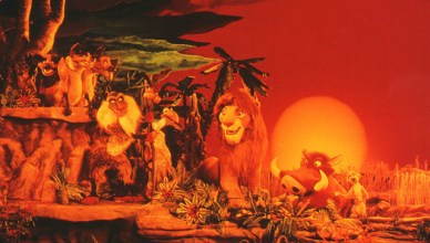 legend of the lion king postcard Disney