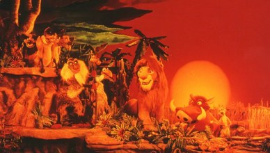 legend of the lion king postcard Disney