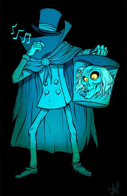 The Hatbox Ghost Whistle T Shirt Imaginerding
