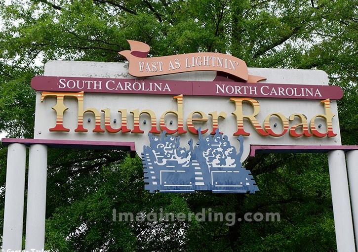 #ThanksThunderRoad Celebration Underway at Carowinds