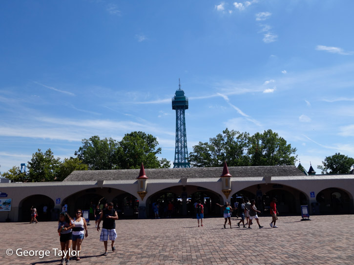 Kings Dominion Roller Coasters