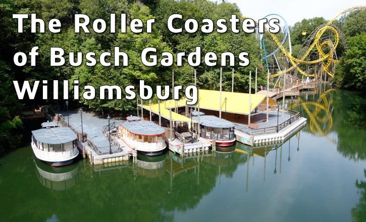 Busch Gardens Williamsburg Roller Coasters - ImagiNERDing
