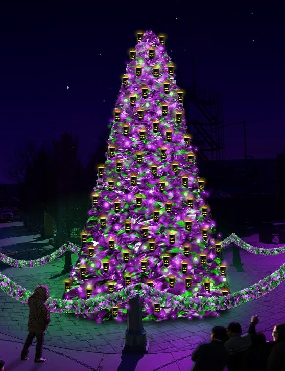 Holiday City Tree 2