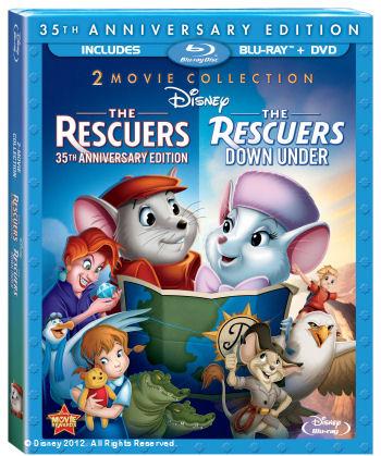 rescuers blu-ray