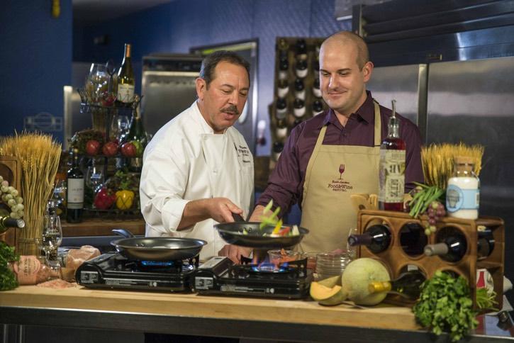 2016_Busch Gardens Food and Wine Festival_Chef Ron DeBonis and Jamie Johnson Busch Gardens 2016 Food & Wine Festival Menu