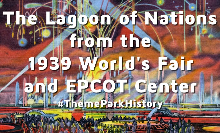 Lagoon of Nations at the 1939 New York World's Fair