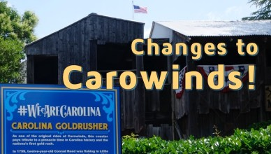 changes at carowinds
