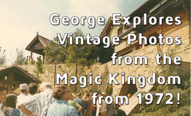 Vintage Magic Kingdom Photos from 1972