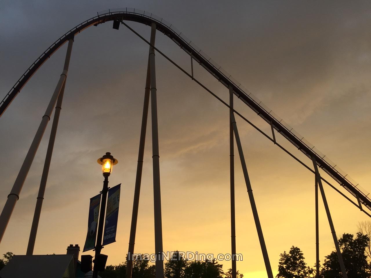 Kings Island Roller Coasters - ImagiNERDing