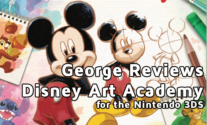 Disney Art Academy for the Nintendo 3DS, a review