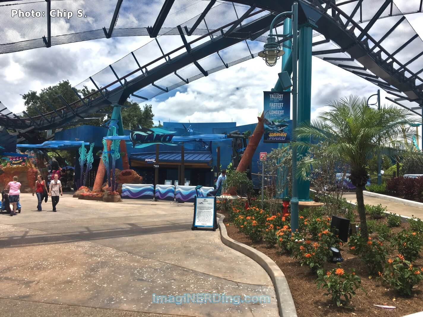 seaworld roller coasters kraken manta and mako imaginerding