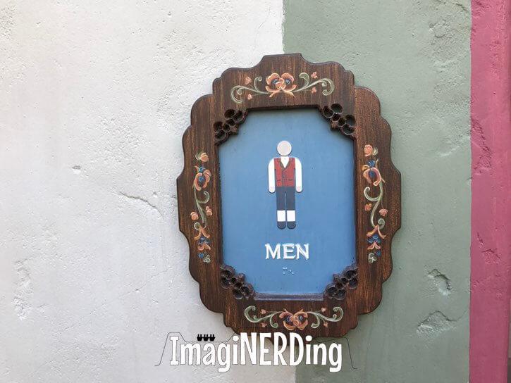 Norway pavilion restrooms Epcot