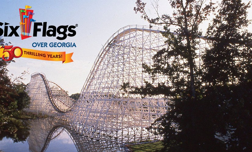 Six Flags Over Georgia 50 Thrilling Years Press Release