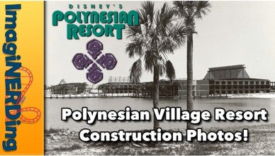 Polynesian Village Resort Construction Photos Disney's Polynesian Village Resort Construction Photos