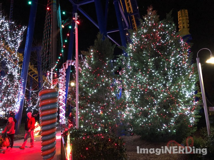 carowinds winterfest carowinds Christmas