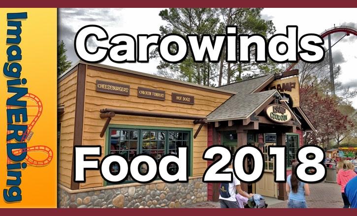 carowinds food