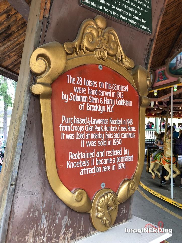 knoebels grand carousel
