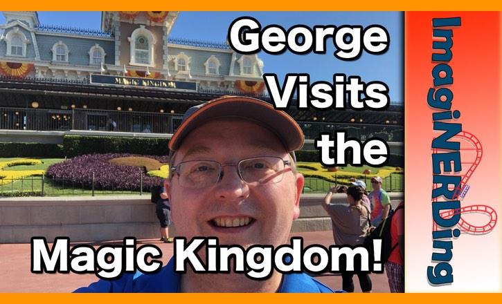 George Gets Mad at the Magic Kingdom