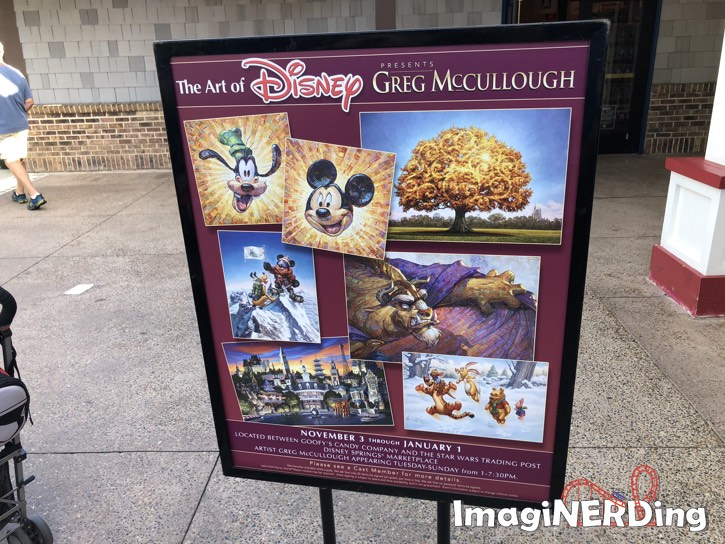 art of disney presents greg McCullough