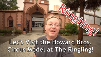 Howard brothers circus model at the ringling