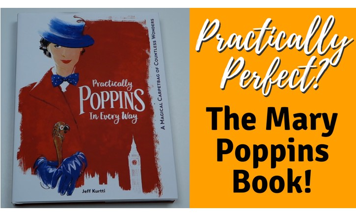 The YouTube thumbnail for George's sneak peak video of the Practically Poppins book by Jeff Kurtti