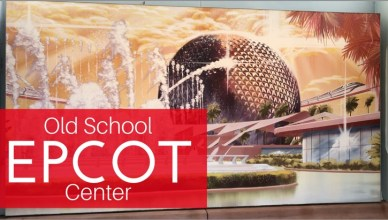 featured image of apainting of Epcot at Walt Disney World