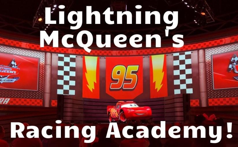 Lightning McQueen's Racing Academy at Hollywood Studios
