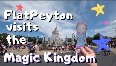 flat peyton-flat-stanley-visits-the-magic-kingdom