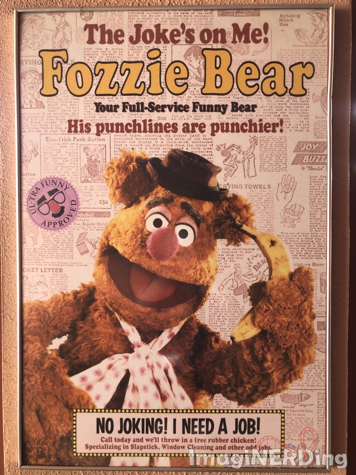 Fozzie Bear Muppetvision
