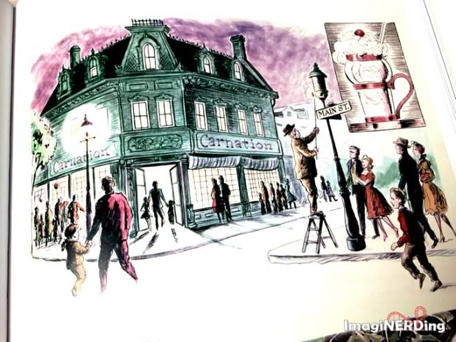 concept art from Walt Disney's Disneyland book