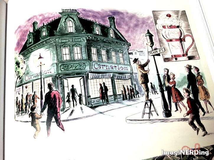 concept art from Walt Disney's Disneyland book