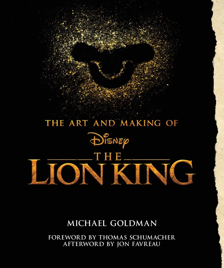 cover of The Art and Making of the Lion King (2019) by Goldman